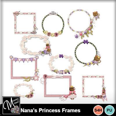 Nana_s_princess_frames