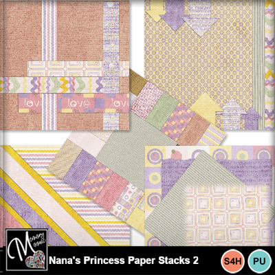 Nana_s_princess_paper_stacks_2