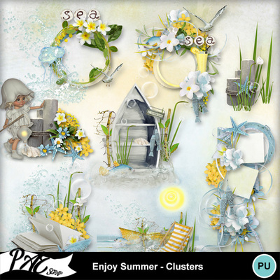 Patsscrap_enjoy_summer_clusters