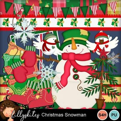 Christmassnowman1