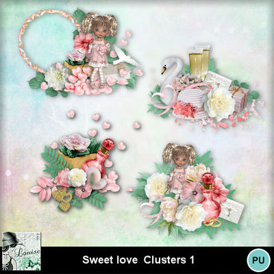 Louisel_sweet_love_clusters1_preview