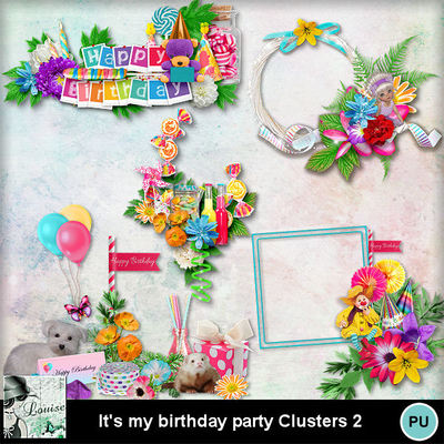 Louisel_its_my_birthday_party_clusters2_preview