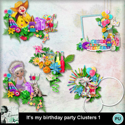 Louisel_its_my_birthday_party_clusters1_preview