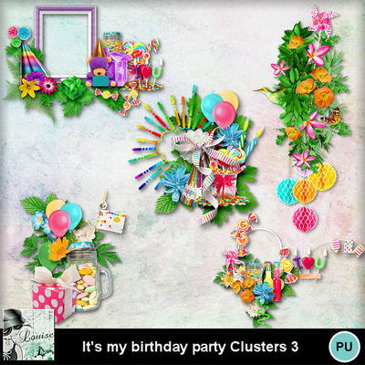 Louisel_its_my_birthday_party_clusters3_preview