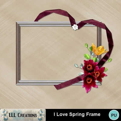 I_love_spring_frame-01
