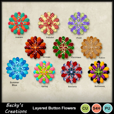 Layered_button_flowers