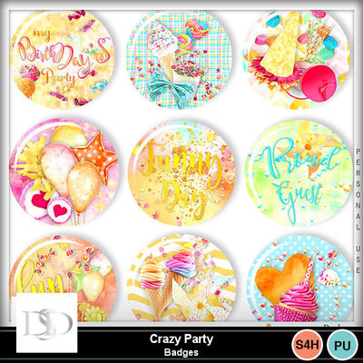 Dsd_crazyparty_badgesmm