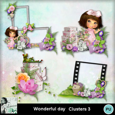Louisel_wonderful_day_clusters3_preview