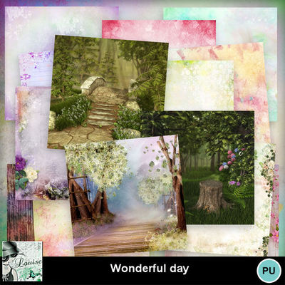Louisel_wonderful_day_papiers_preview