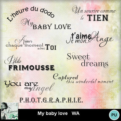 Louisel_my_baby_love_wa_preview