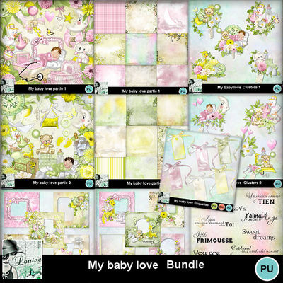 Louisel_my_baby_love_pack_preview
