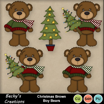 Christmas_brown_boy_bears