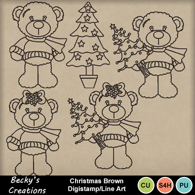 Christmas_bear_digi_line_art