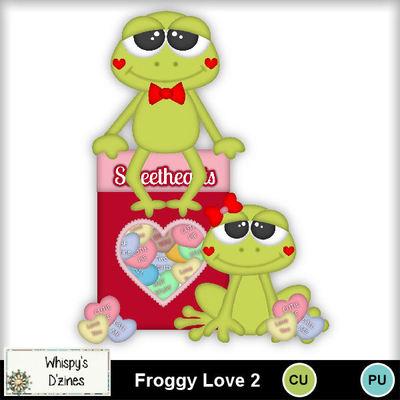 Wdcufroggylove2capv