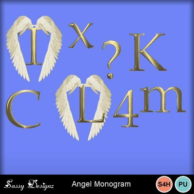 Angelmonogram