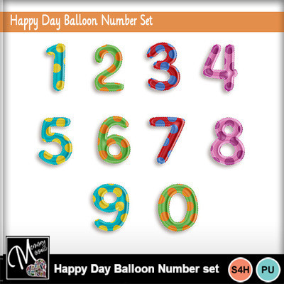 Happy_day_balloon_number_set