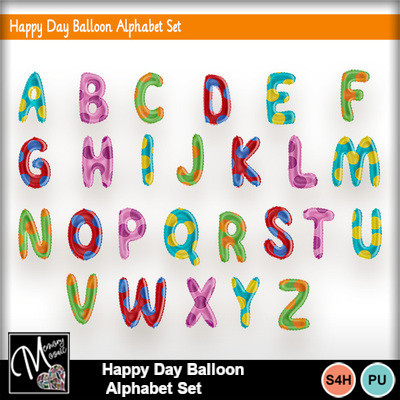 Happy_day_balloon_alphabet_set