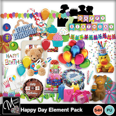 Happy_day_element_pack