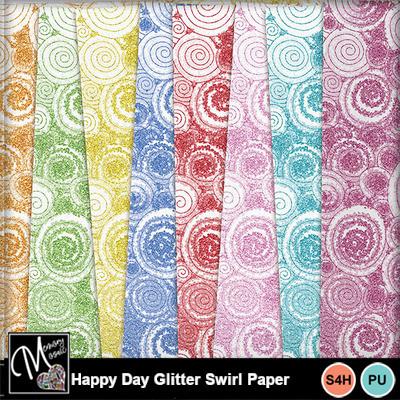 Happy_day_glitter_swirl_paper