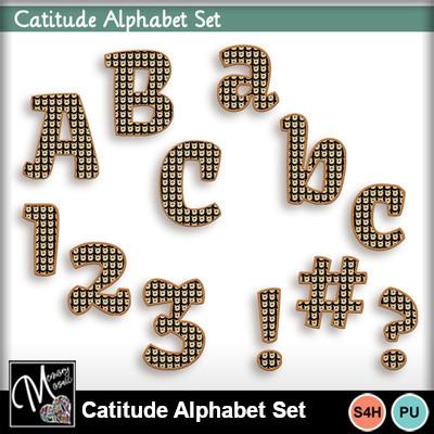 Catitude_alphabet_set