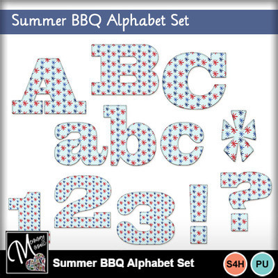 Summer_bbq_alphabet_set