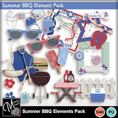 Summer_bbq_elements_pack