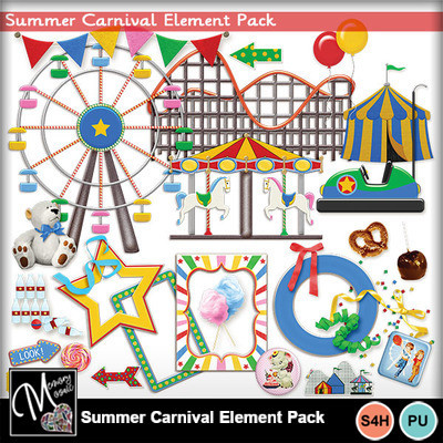 Summer_carnival_element_pack