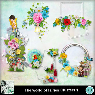 Louisel_theworldoffairies_clusters1_preview