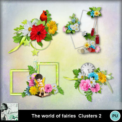 Louisel_theworldoffairies_clusters2_preview