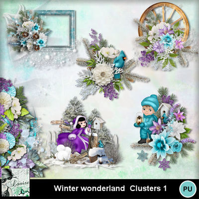 Louisel_winter_wonderland_clusters1_preview