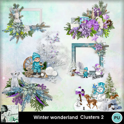 Louisel_winter_wonderland_clusters2_preview