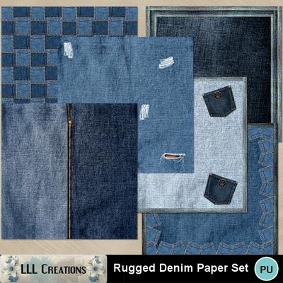 Rugged_denim_paper_set-01