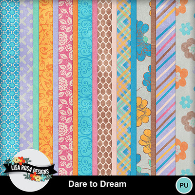 Lisarosadesigns_daretodream_papers