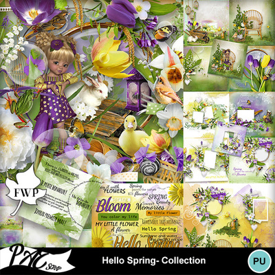 Patsscrap_hello_spring_pv_collection
