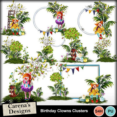 Birthday-clowns-clusters