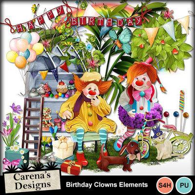 Birthday-clowns-elements
