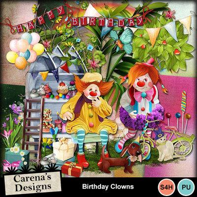 Birthday-clowns