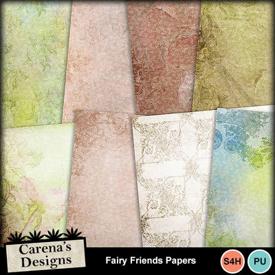 Fairy-friends-papers