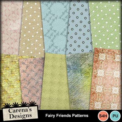 Fairy-friends-patterns
