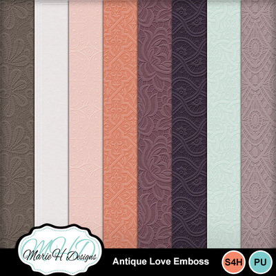 Antique-love-emboss-01