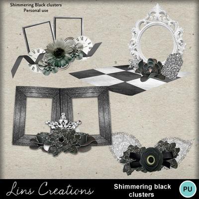 Shimmeringblackclusters