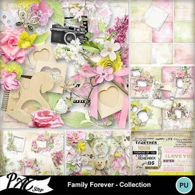Patsscrap_family_forever_pv_collection
