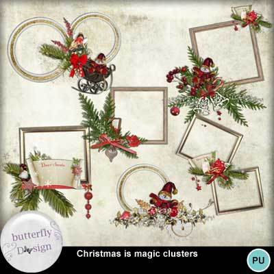 Butterflydsign_christmasismagic_cluster_pv_mymemo