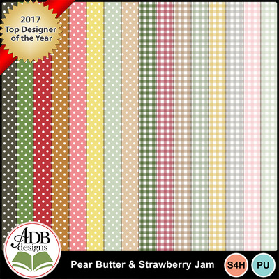 Adbdesigns-pearbutter-strawberryjam_0010_dots_-_gingham_-papers