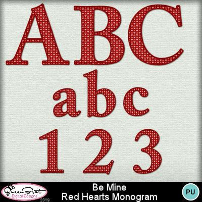 Bemine_redpinkheartsmonogram1-1