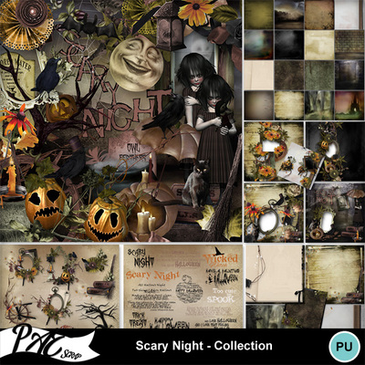 Patsscrap_scary_night_pv_collection
