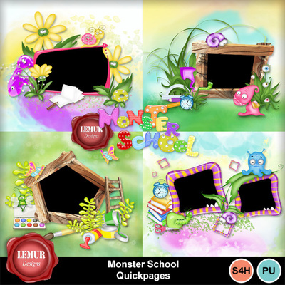 Monster_school_qp