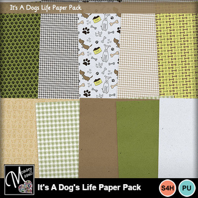 It_s_a_dog_s_life_paper_pack