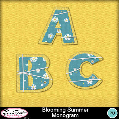 Bloomingsummer-monogram