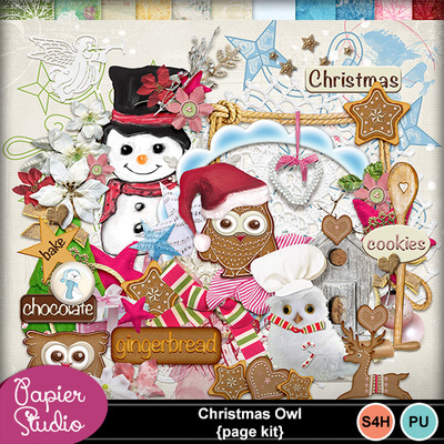 Christmas_owl_page_kit
